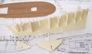 ship model, kits, solid hull, plank on bulkhead