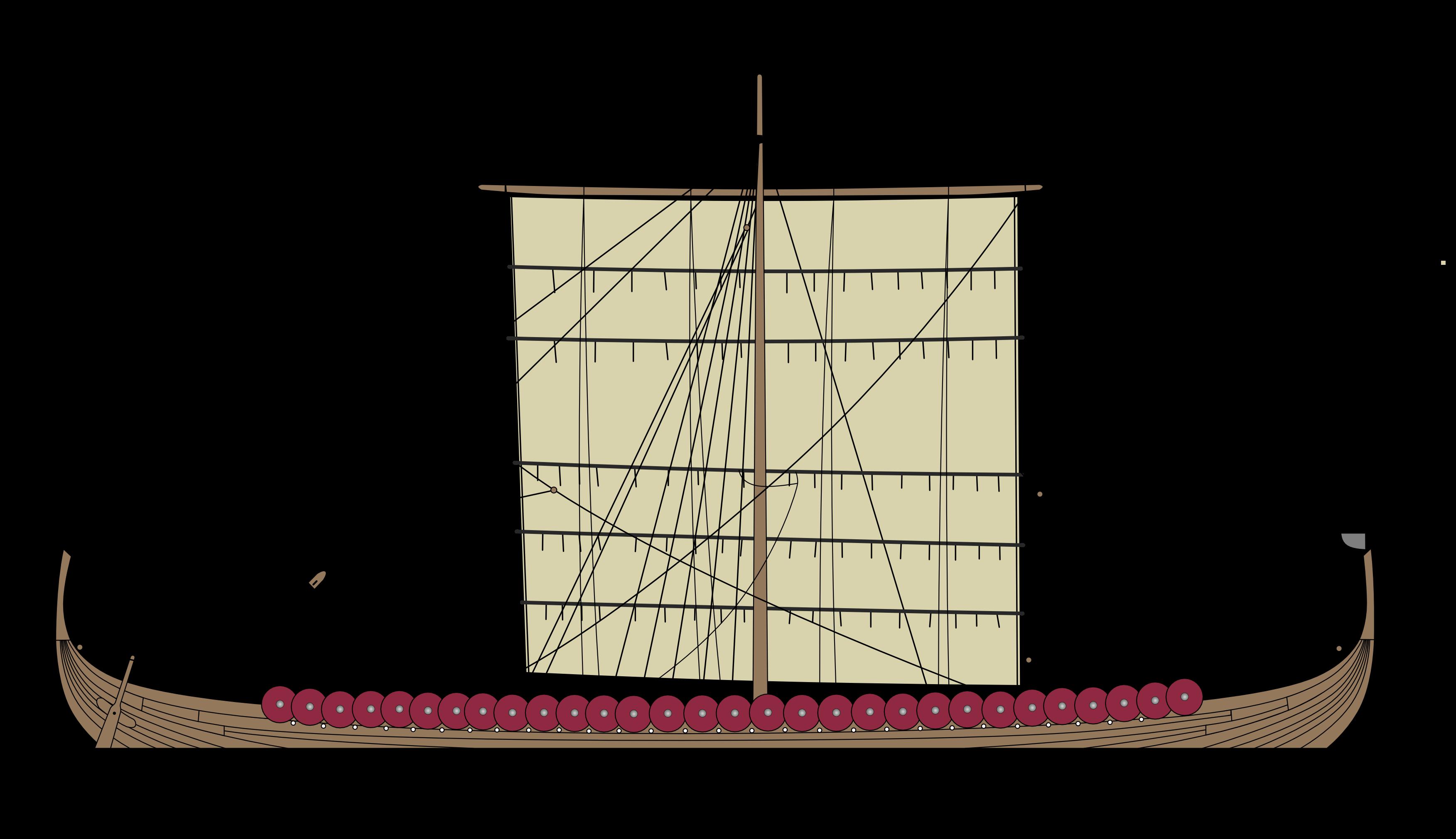 Gokstad Viking Longship | The Model Shipwright