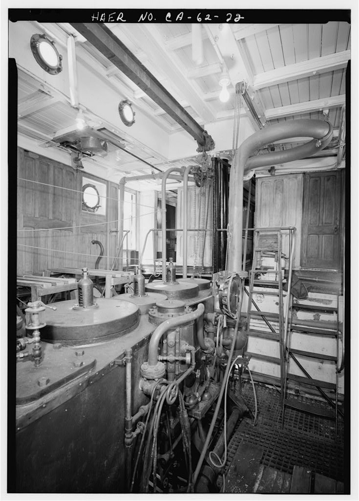 Boat Engine Room: Steam Tug Hercules Photo Gallery