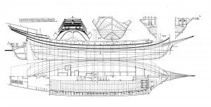 free, ship, plan, xebec, chapman, Architectura Navalis Mercatoria