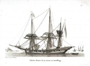 xebec, Genoa, Genoise, 14 cannons