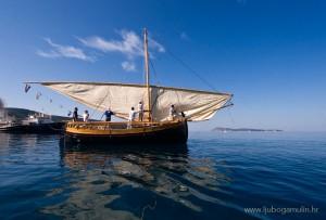lateen, sail, triangular, mediterranean, croatia, bracera