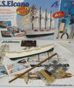 Artesania Latina model ship kit solid hull plastic ABS