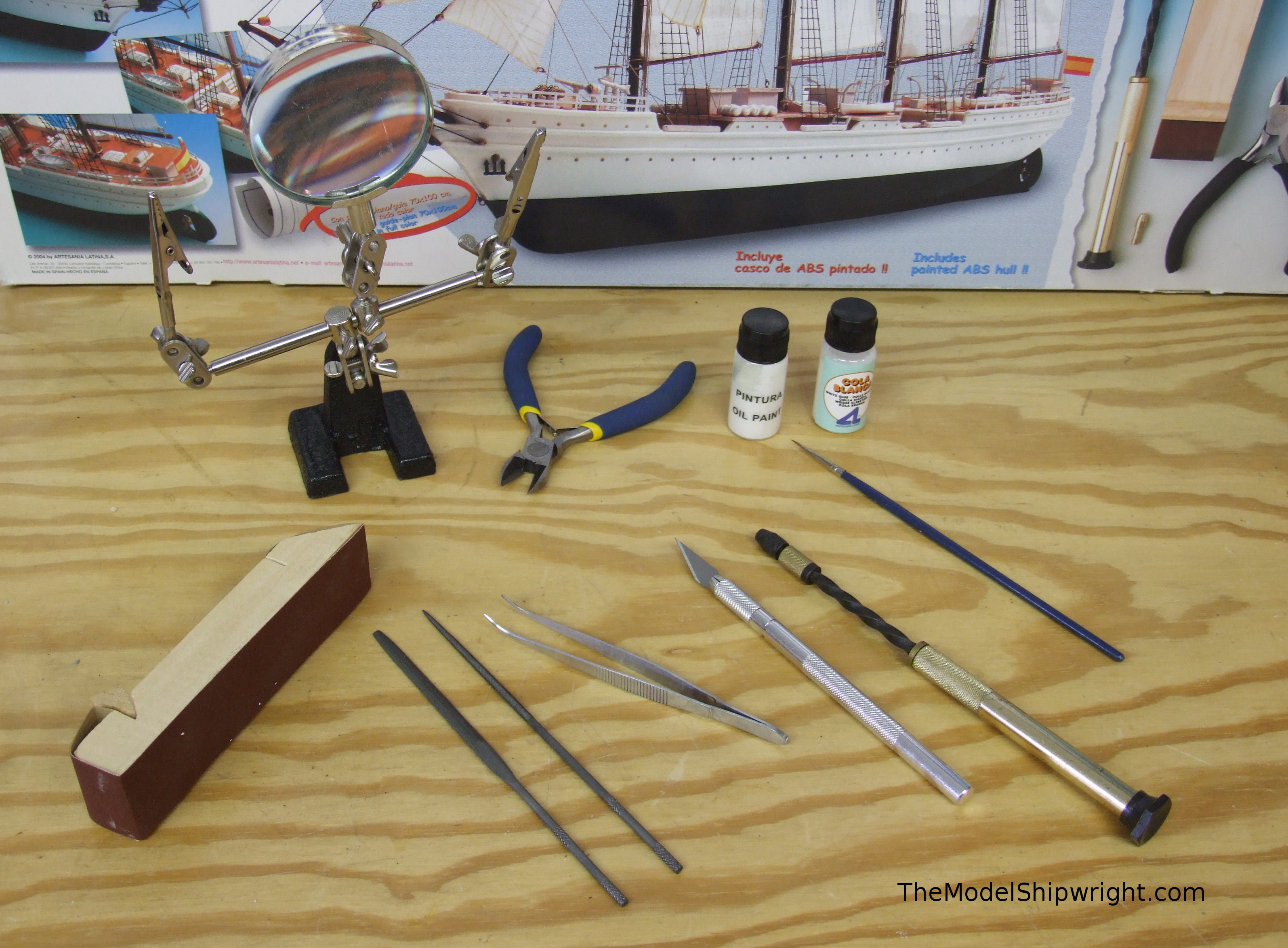 Gallery: Model builder&#39-s warship a six-year labour of love