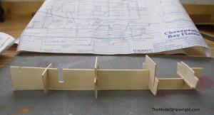 Midwest Chesapeake Bay Flattie plank-on-frame ship model kit wood