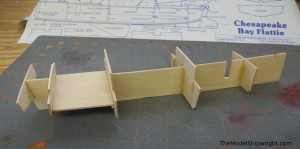 Midwest, Chesapeake Bay Flattie, ship model, kit, hull, framework, plank-on-bulkhead, beginner, wood, die-cut, entry-level