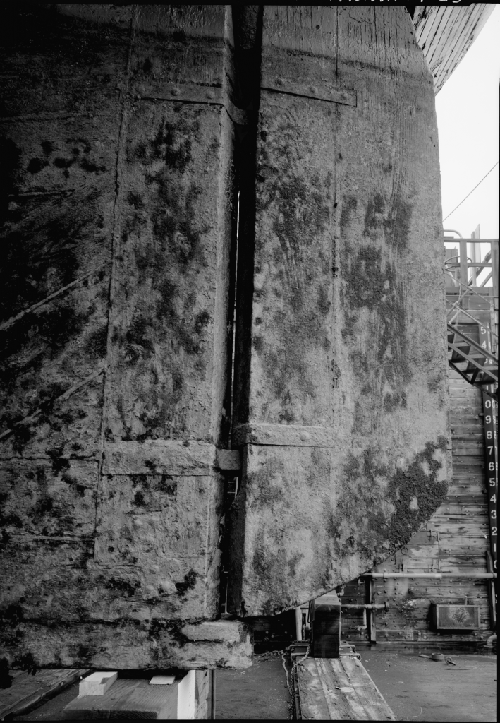 photograph rudder pintle gudgeon lumber schooner Wawona