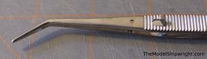 locking tweezers model ship building tool