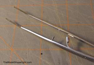 locking tweezers model shipbuilding tool