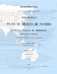 Souvenirs de Marine François-Edmond Pâris, ship plans