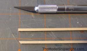 model ship, kit, plank-on-bulkhead, midwest products, chesapeake bay flattie figure 22