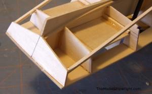 model ship, kit, plank-on-bulkhead, midwest products, chesapeake bay flattie figure 27