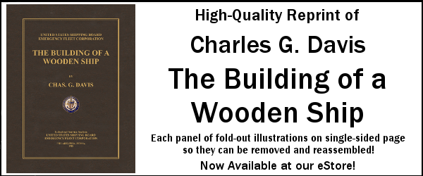 Charles Davis, The Building of a Wooden Ship