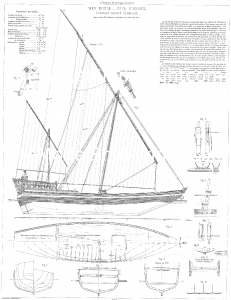 Ship model, Arab, Sambouk, dhow, scratch-building, solid hull, bread-and-butter