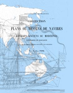 Souvenirs de Marine Troisième partie by François-Edmond Pâris, model ship, building, maritime history